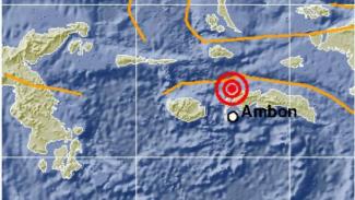 Gempa 5 SR Guncang Serang Bagian Barat Maluku. (Foto ilustrasi).