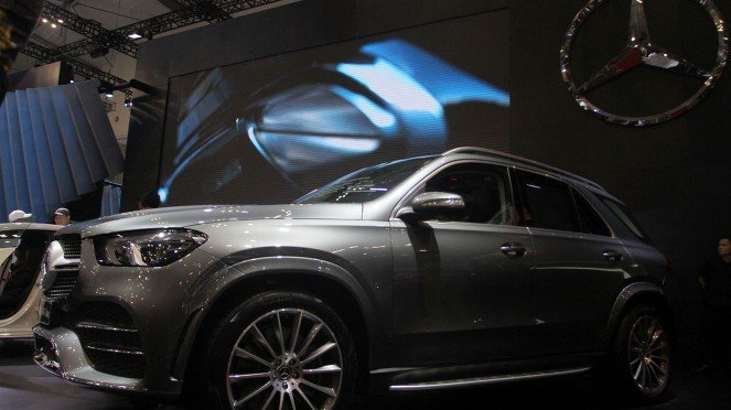 Mercedes-Benz Luncurkan Dua Model Baru di GIIAS 2019, The new GLE