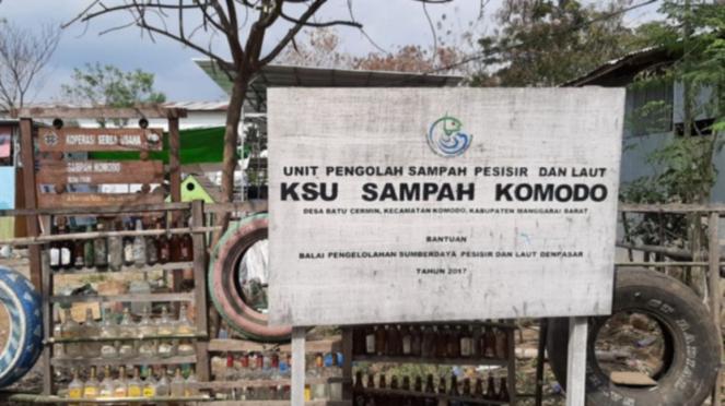 KSU Sampah Komodo