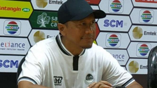 Pelatih Tira Persikabo, Rahmad Darmawan.