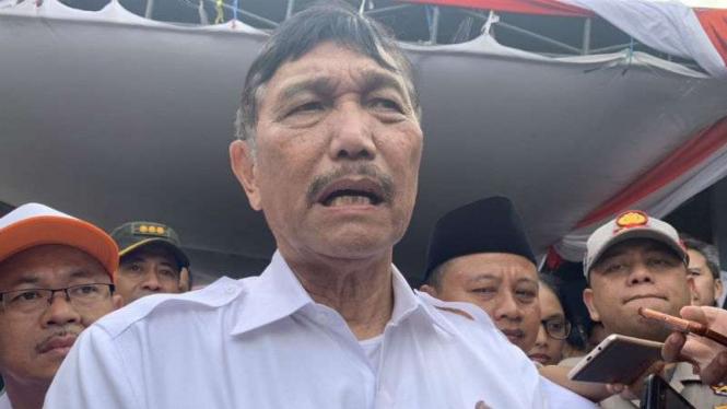 Menteri Koordinator Bidang Kemaritiman, Luhut Binsar Pandjaitan,