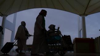 Jemaah Haji Kloter Makassar Tiba di Jeddah