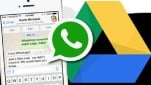 whatsapp to googledrive