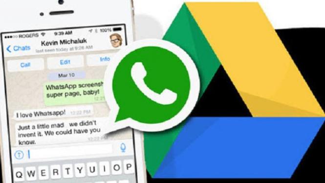 whatsapp to googledrive