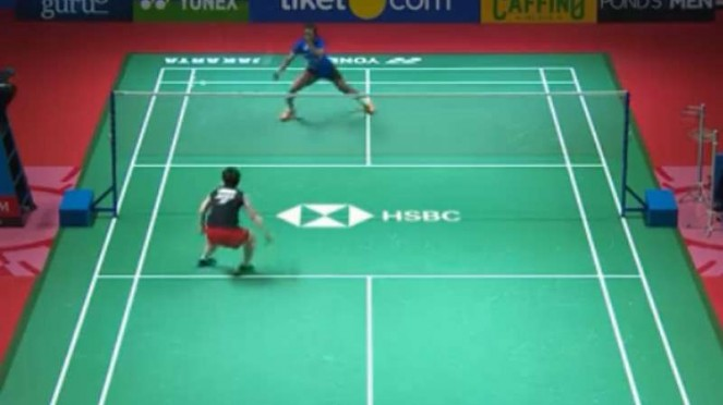 Akane Yamaguchi vS Sindhu di final Indonesia Open 2019.