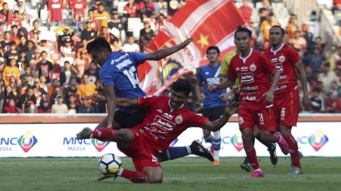 Final Piala Indonesia Persija vs PSM Makassar