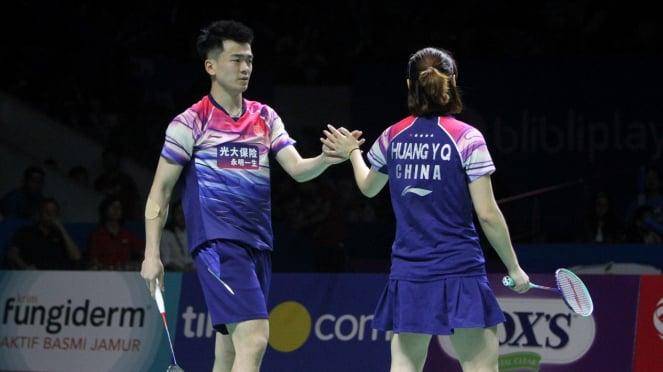Ganda Campuran China Zheng Siwei-Huang Ya Qiong Juarai Indonesia Open 2019
