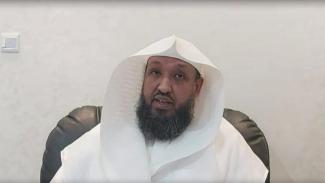 Imam Masjidil Haram Syekh Hassan Abdul Hamid Al Bukhori