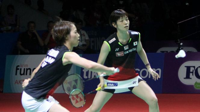 Yuki Fukushima-Sayaka Hirota Juarai Ganda Putri Indonesia Open 2019