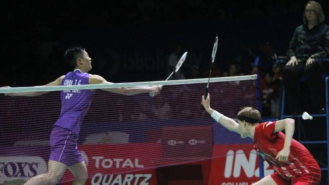 Kalahkan Anders Antonsen, Chou Tien Chen Juarai Indonesia Open 2019