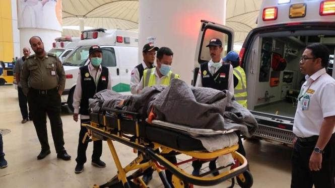 Jemaah haji meninggal dunia di Bandara Jeddah