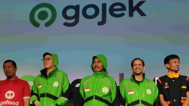 Logo baru Gojek