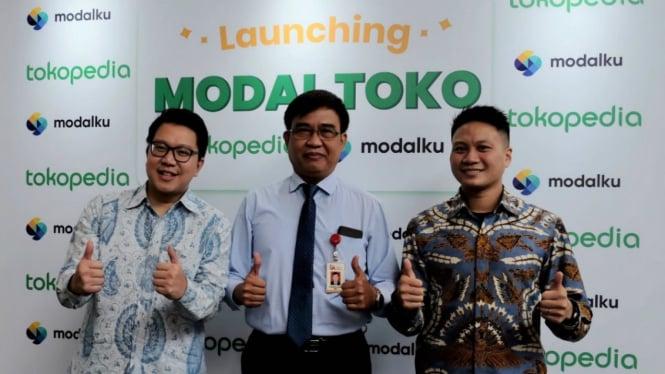 Tokopedia berkolaborasi dengan Modalku luncurkan Modal Toko