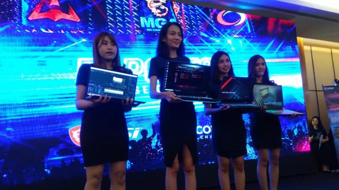 MSI hadirkan tiga laptop gaming di Indonesia