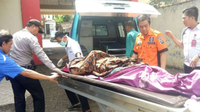 Pemalak tewas ditembak polisi, di Palembang, Sumatera Selatan.