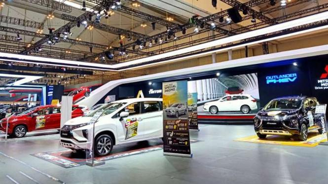 Stan Mitsubishi di GIIAS 2019