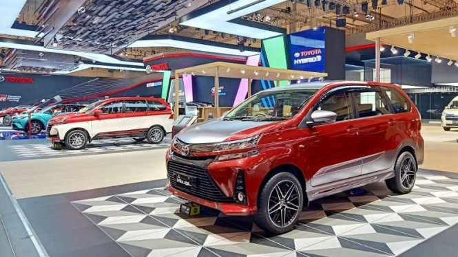 Stan Toyota di GIIAS 2019.