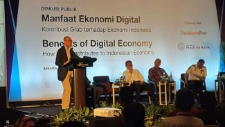 Chatib Basri di Diskusi Publik Manfaat Ekonomi Digital.