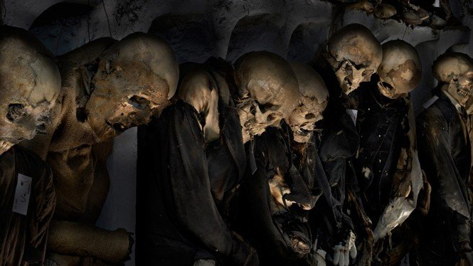 Capuchin Catacombs of Palermo.