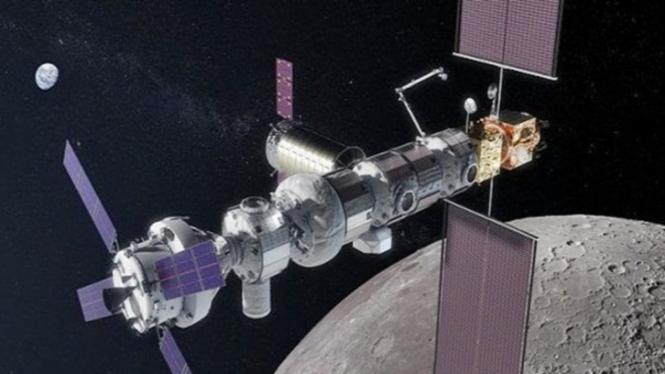 Stasiun Ruang Angkasa Bulan