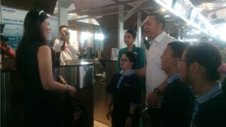 Garuda Indonesia berikan pelatihan kerja pada para penderita down syndrome.