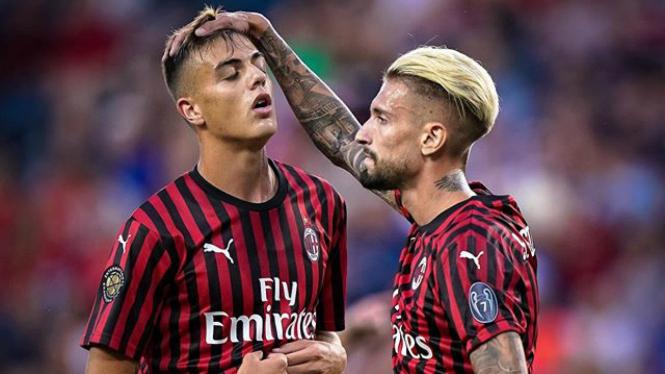 Laga AC Milan di turnamen pramusim ICC