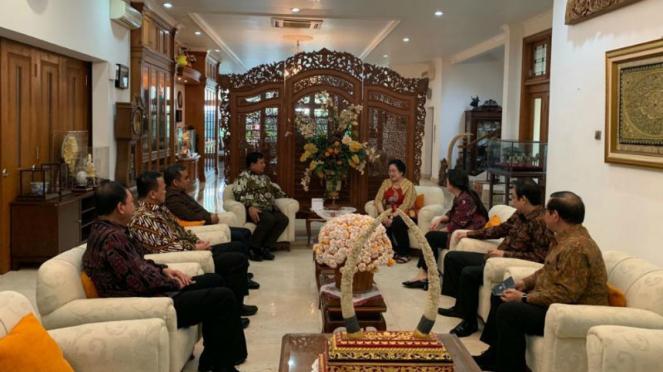 Prabowo dan Megawati bertemu 24 Juli 2019