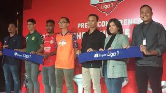 Konfrensi pers launching jersey resmi tim Liga 1