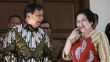 Megawati Soekarnoputri Bertemu Prabowo Subianto