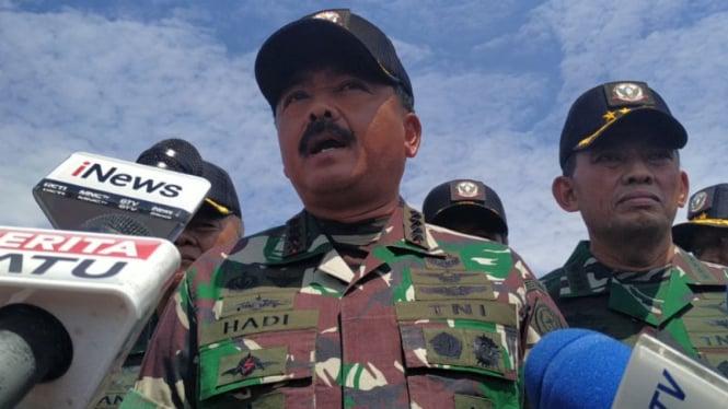 Panglima TNI Marsekal Marsekal Hadi Tjahjanto