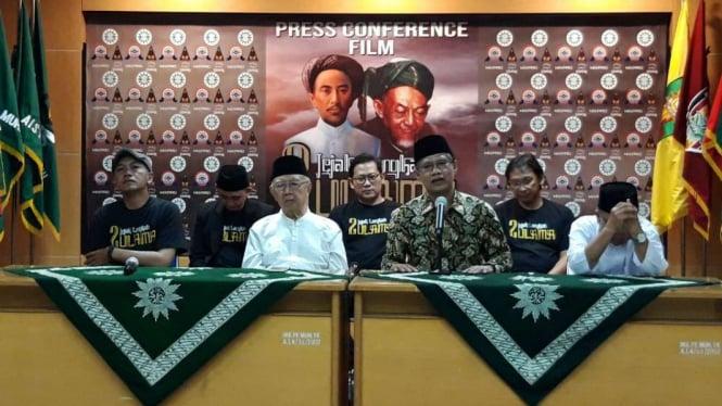 Ketua Umum (Ketum) PP Muhammadiyah, Haedar Nashir dan Gus Solah.
