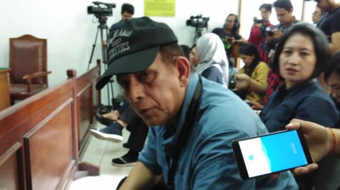 Mantan Kepala Badan Intelijen ABRI Mayor Jenderal (Purn) Zacky Anwar Makarim