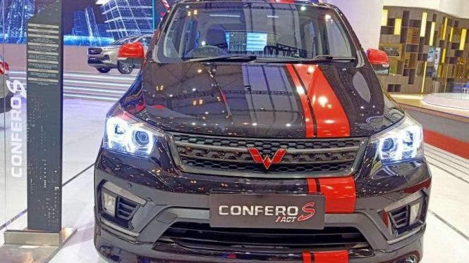 Wuling Confero S versi modifikasi yang dipajang di GIIAS 2019