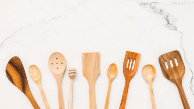 Ilustrasi alat masak.