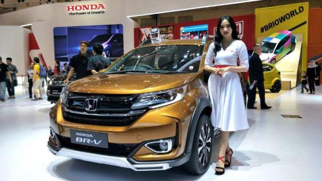 Honda BR-V di GIIAS 2019