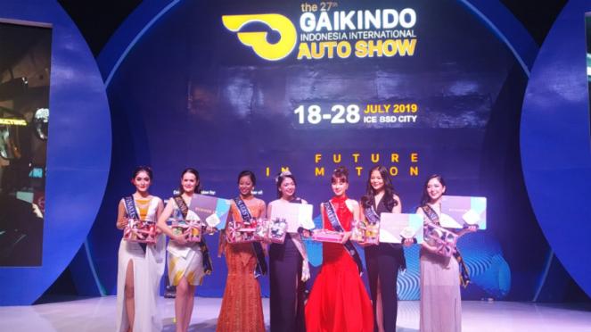 Miss Auto Show GIIAS 2019.