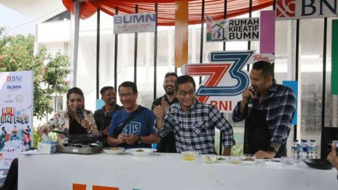 RKB BNI Fest yang digelar di Halal Park