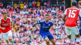 Pertandingan Emirates Cup 2019 antara Arsenal kontra Olympique Lyon