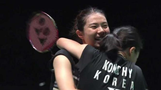 Gadis Korea Pembunuh Raksasa Hancurkan Ganda Putri RI di Taiwan Open