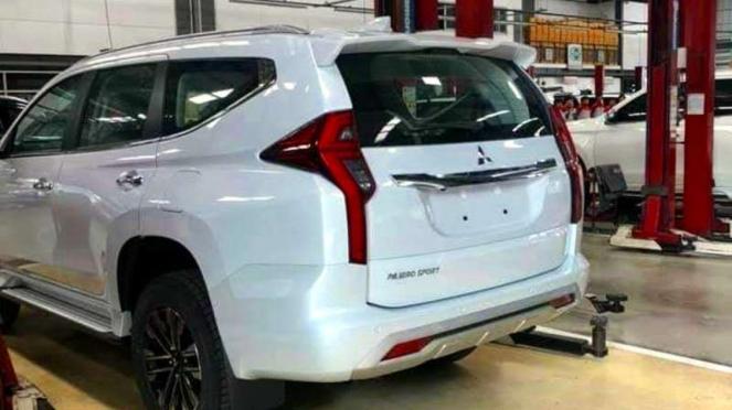Bocoran Mitsubishi Pajero Sport baru