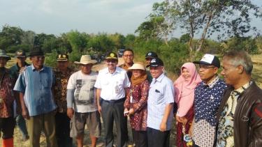 Dirjen PSP Kementan, Sarwo Edhy saat kunjungan kerja ke wilayah