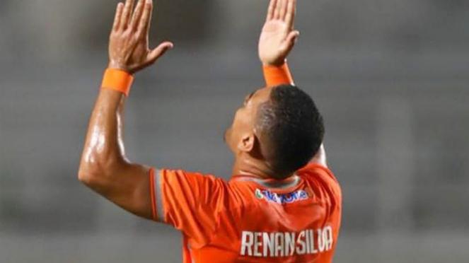 Gelandang Borneo FC, Renan Silva