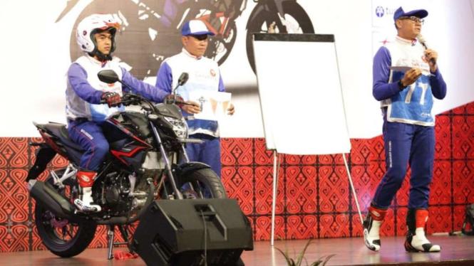 Honda kembali gelar safety riding instruktur kompetisi.