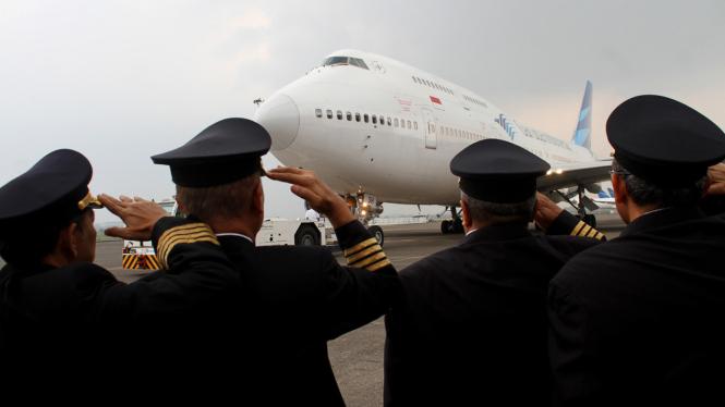 Ilustrasi Garuda Indonesia.