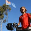 Ben Hollis has family in Australia and his father and sister are joining him there - Nat Geo Leo