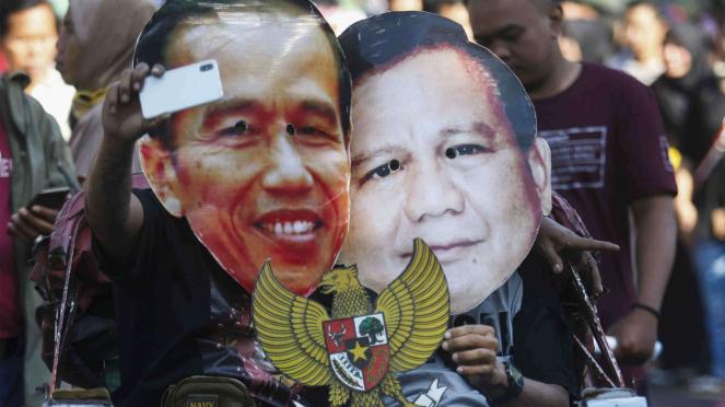 Aksi pasca pertemuan Jokowi dan Prabowo