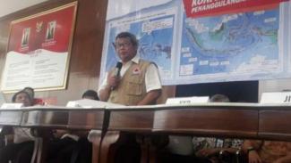 Kepala Pusat Data, Informasi dan Hubungan Masyarakat Badan Nasional Penanggulangan Bencana (BNPB), Agus Wibowo.