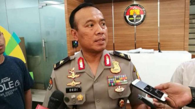 Kepala Biro Penmas Divisi Humas Polri Brigjen Polisi Dedi Prasetyo.