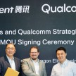 qualcomm dan Tencent
