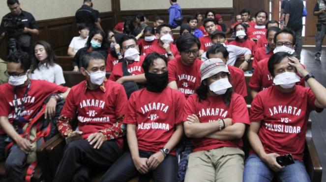 Sidang Warga Gugat Polusi Udara di Jakarta